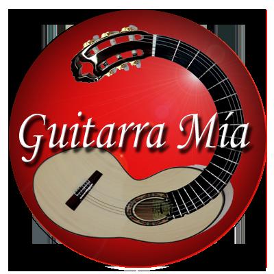 Logo Plataforma Guitarra Mia Rojo